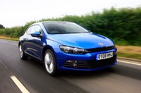 vw scirocco blue